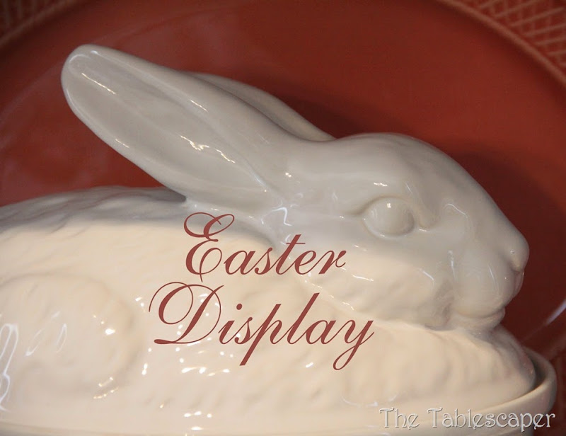 cover Easter display - The Tablescaper