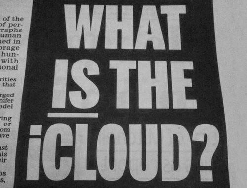 Icloud not actual cloud