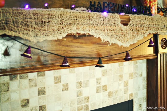 Witch Hat Garland