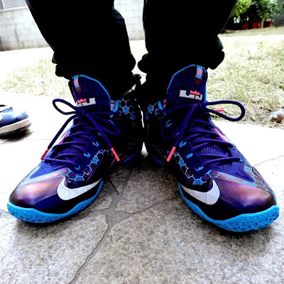 nike lebron 11 gs summit lake hornets 1 01 First Look at Nike LeBron 11 Summit Lake Hornets (616175 500)