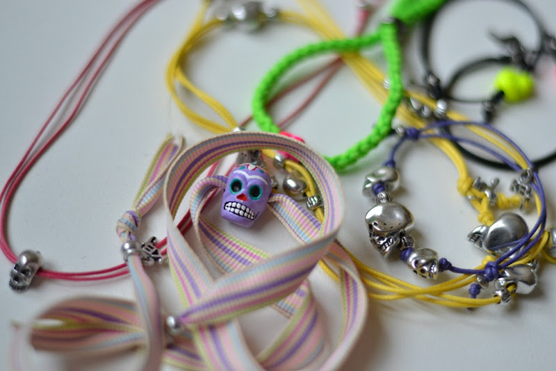 Bracelets, Skull Bracelets, KBJ Jewels, Kettlebell Jewels, Kettlebell Bracelets