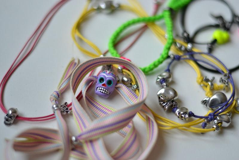 Bracelets, Skull Bracelets, KBJ Jewels, Kettlebell Jewels, Kettlebell Bracelets