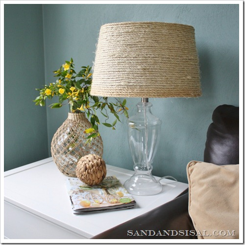 Sisal Rope Lamp Shade