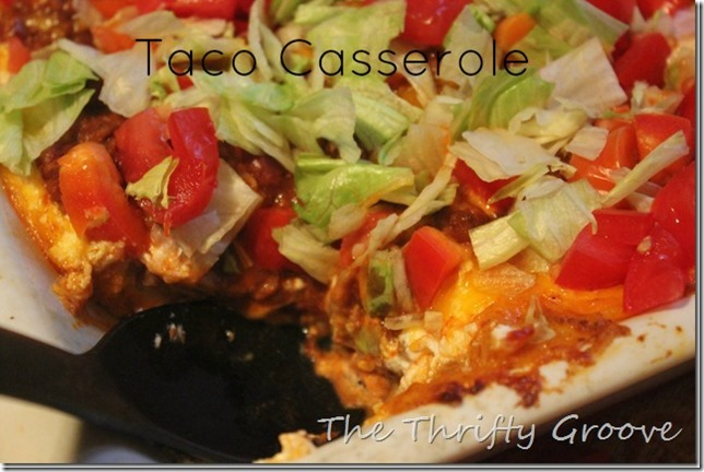 taco casserole recipe @ TTG