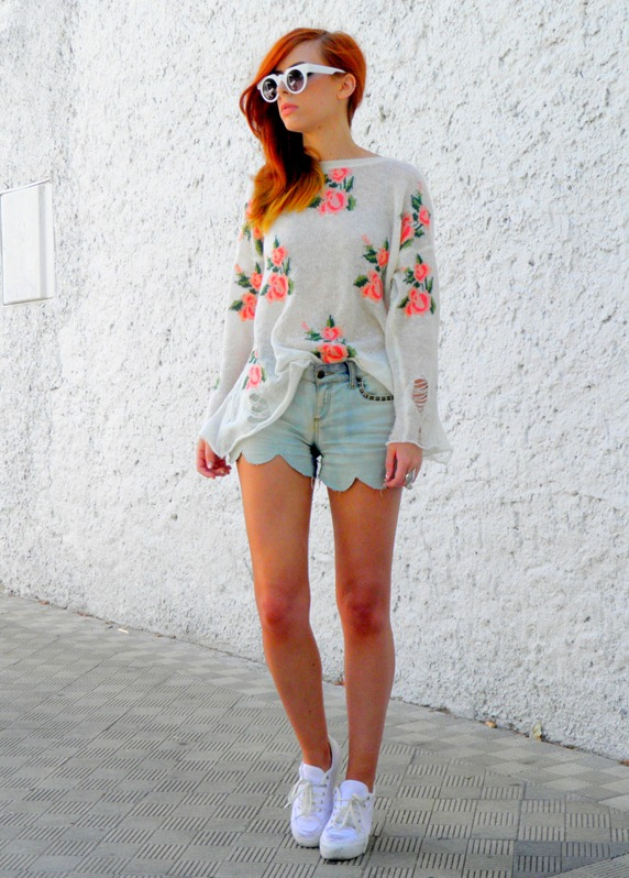 ROMWE FLORAL JUMPER 1