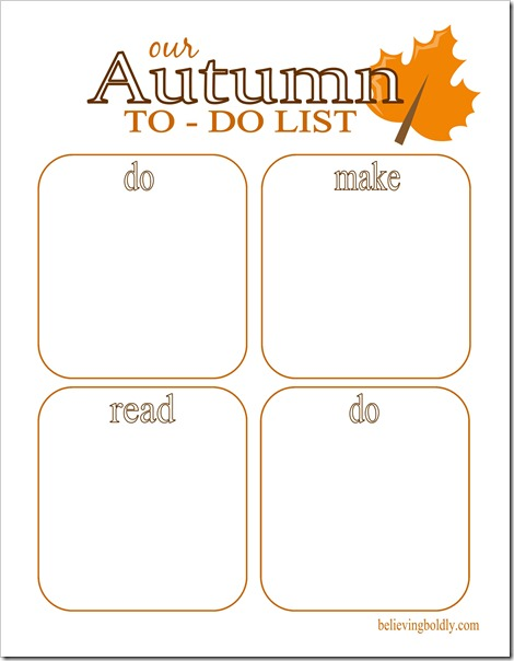 Autumn To Do List 2 SJB