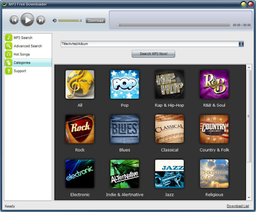 Descargar MP3 Free Downloader gratis