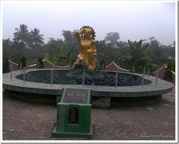 Gautam Buddha as Labor at Shramik Park - Shrastha Smarak