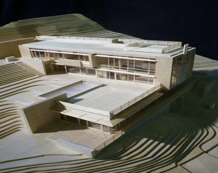 maqueta-proyecto-casa-en-Villa-Gardone-de-Richard-Meier-&-Partners
