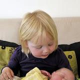 Magne og den meget glade storesøster!