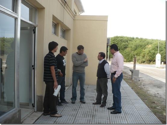 Juan Pablo de Jesús supervisó la obra de las nuevas oficinas de Ordenamiento Urbano