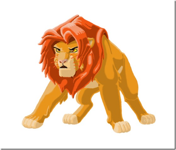 El Rey León,The Lion King,Simba (140)