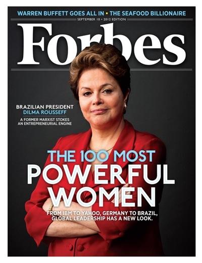 Dilma revista Forbes - Priscila e Maxwell Palheta