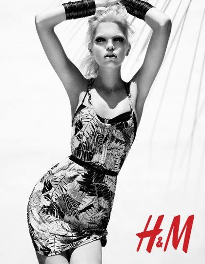 Daphne Groeneveld for H&M Season of Sun 2012 ad campaign2