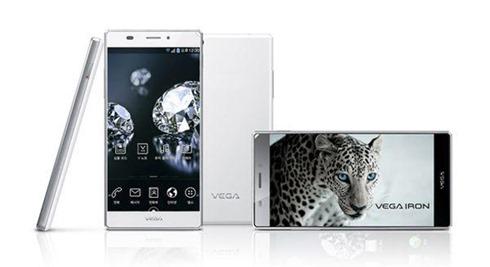 Pantech Smartphone Vega Iron