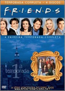 50ee32fd44883 Friends   1ª Temporada Completa Dublado H264 + AVI BDRip