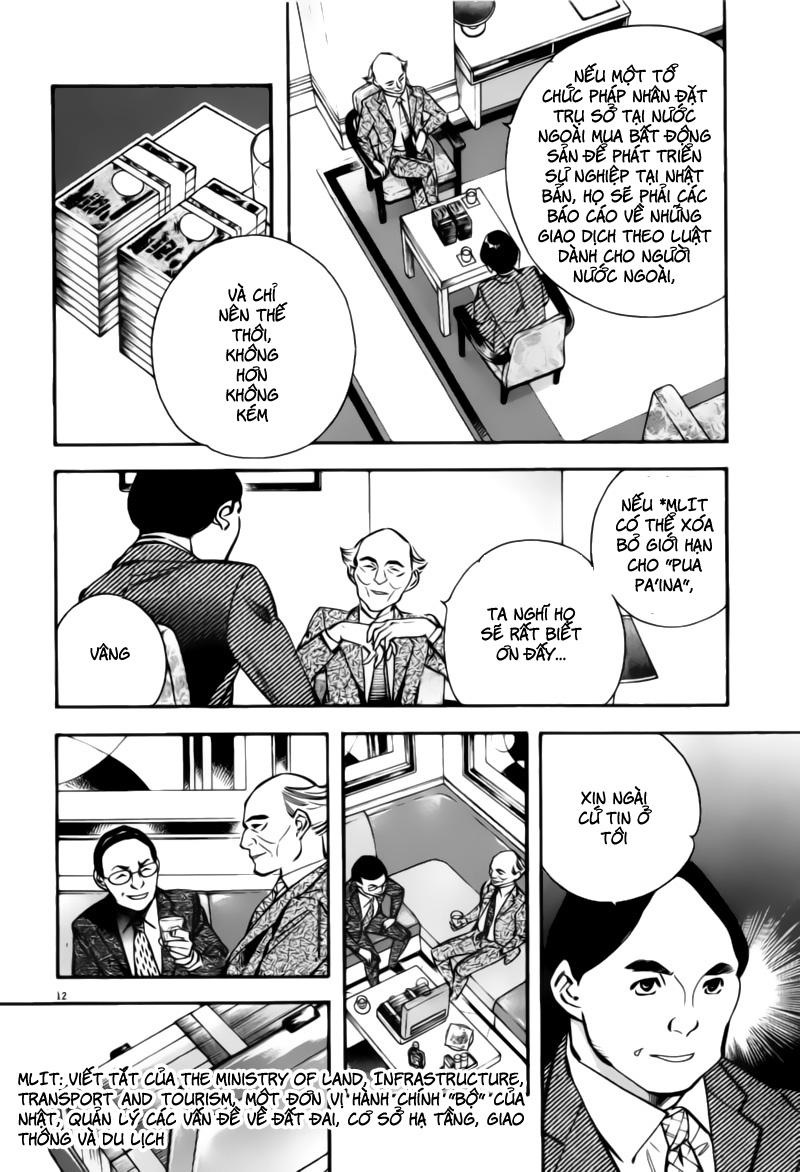 Shin Kurosagi - Con Diệc Đen 2 chap 197 - Trang 12