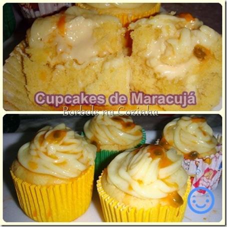 Cupcakes de Maracujá