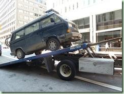 van on truck
