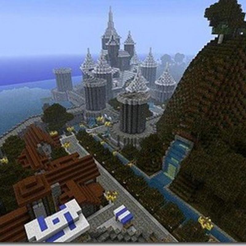 Minecraft 1.2.5 - Castle Lividus of Aeritus Map (castello)