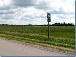 2115 Saskatchewan TC-1 East sign