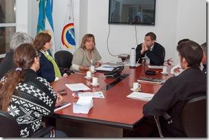 El ejecutivo municipal se reunió con la titular de Anses Santa Teresita para delinear el trabajo mancomunado