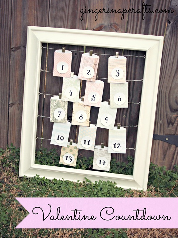 Valentine Countdown Lifestyle Crafts