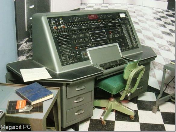 Estación de control de la UNIVAC I