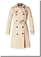 Double breasted trench coat 1