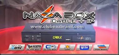 NOVA ATUALIZAÇÃO NAZABOX CABLE IP