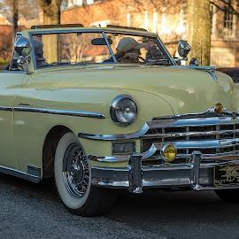Sweet '51 Windsor At Sunset by Roy Walter - Transportation Automobiles ( car, chrysler, windsor, automobile, transportation, classic )