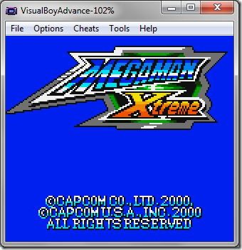 Download GBC Megaman Xtreme English for PC (Emulator + Rom)