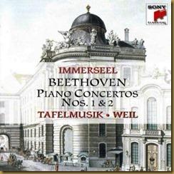 Beethoven concierto piano 2 Immerseel Weil