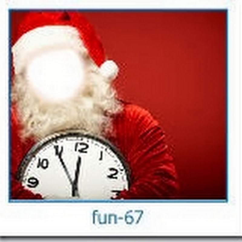 Generador de fotomontaje navidad Santa con tu cara