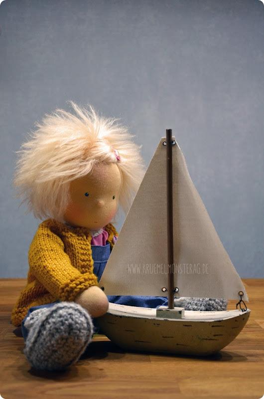 NessiBelle (Ida mit Schiff) für Schwiegerpaps