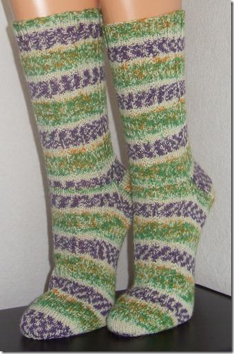 2012_06 Socken Jecker Sommerflieder