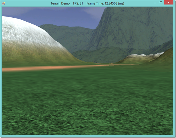 Terrain LOD for DirectX 10 Graphics Cards, using SlimDX and Direct3D 11