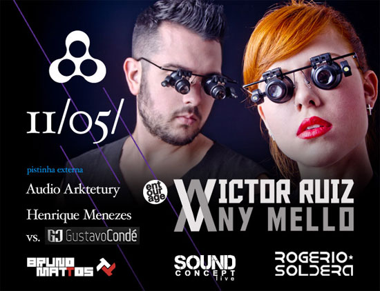 Victor Ruiz Any Mello Live na Anzu Club em Itu
