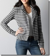 Loft striped jacket