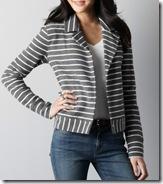 Loft striped jacket