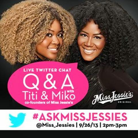 Miss Jessie's Twitter Chat