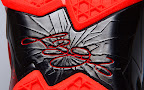nike lebron 11 gr black red 2 16 New Photos // Nike LeBron XI Miami Heat (616175 001)