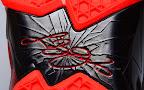 nike lebron 11 gr black red 2 16 New Photos // Nike LeBron XI Miami Heat (616175 001)