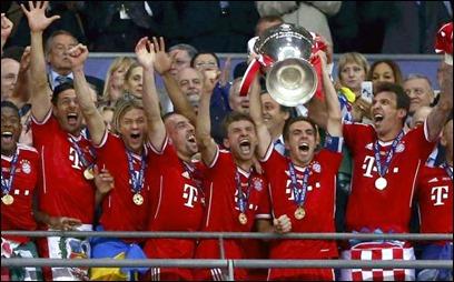 Bayern Muchi Campeón de la supercopa de Europa 2013