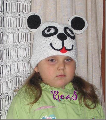 panda czapa 015