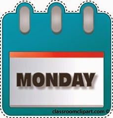 Monday Calendar Clipart