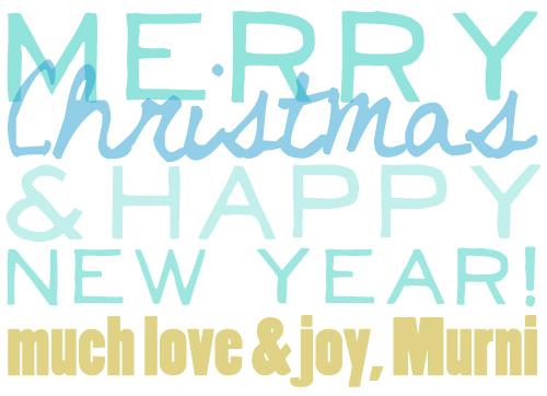 Xmas  new year 2012