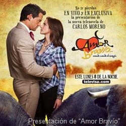 """Presentación de """"Amor Bravío"""""""