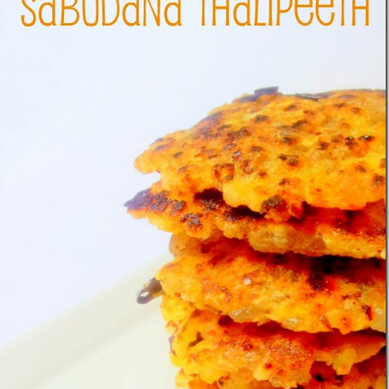 Sabudana Thalipeeth and Aloo Raita | Navratri Vrat Recipes