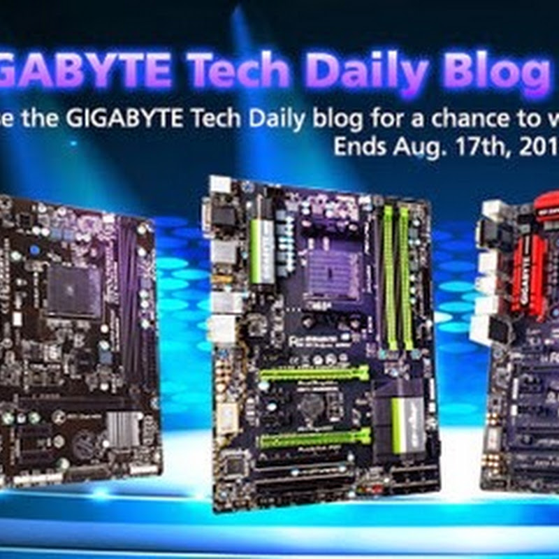 GIGABYTE Tech Daily Blog Frenzy WINNERS